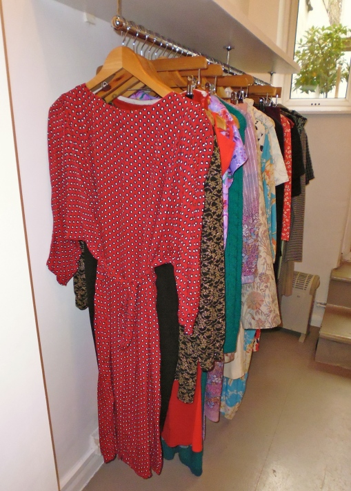New items added dresses, skirts, trousers added weekly!  Follow us on twitter @G_BrickVintage